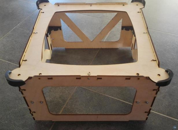 Vertex 3D printer stacker