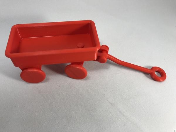 PLA / PVA Little Red Wagon