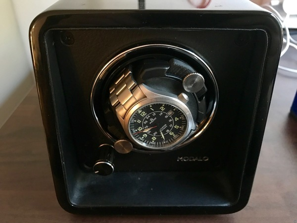 MODALO automatic watch winder (3D printed repair parts)