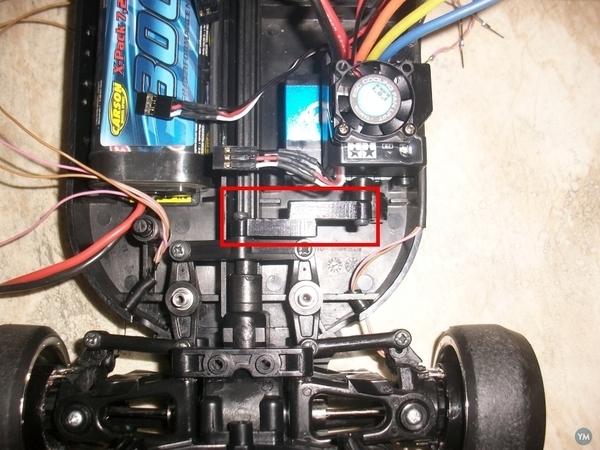Steering arm for TT01 Type-E