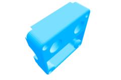UM2 original Hot end assembly block