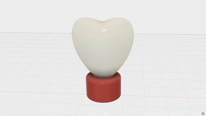 Heart Tea Lamp