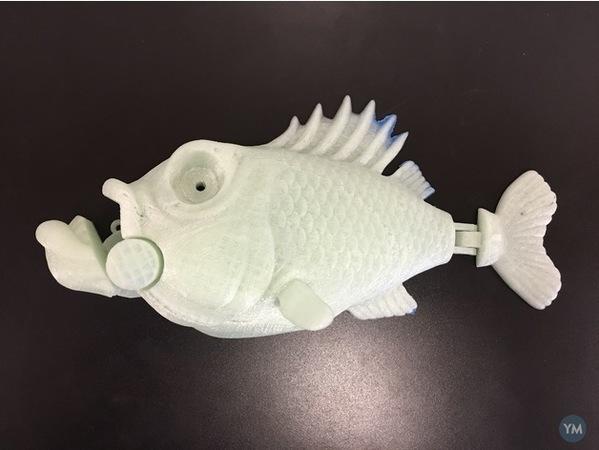 Animatronic Little Bit Fish