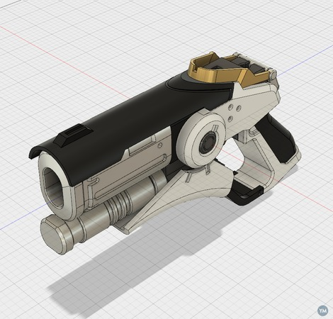 MERCY GUN (overwatch) v2 [SOLID]