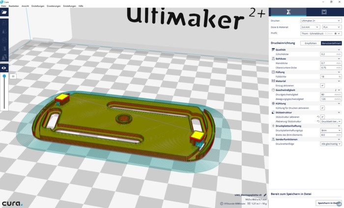 ABUS Rauchmelder Montageplatte | ABUS steam detector mounting plate