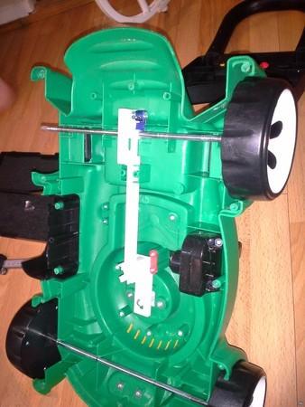 Littletikes lawnmower popper ratchet
