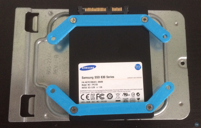 SSD 2,5 to 3,5 adapter