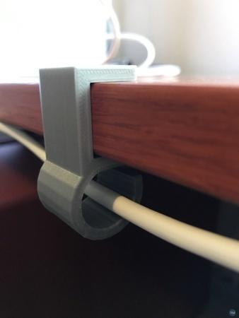 Ikea desk cable holder