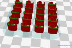 Fila Klammer D3 V5 Matrix 4x5