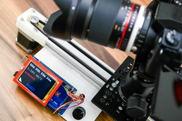 Youmagine diy arduino based motorized dslr camera slider for Stepper motor camera slider