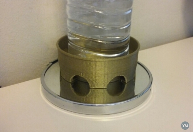 Base para magnetizar agua