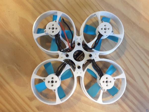 Whoop Drone Cross 4S Night Flight Acro