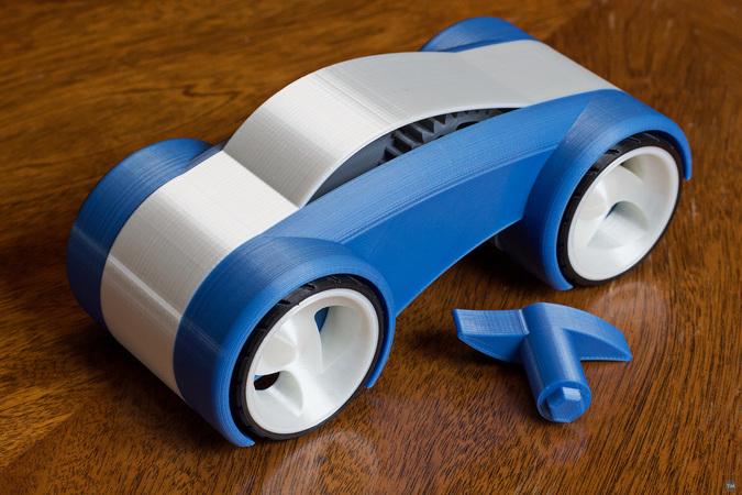 Wheel Mod for Greg Zumwalt's Windup Car