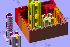 Castle Kit Assembly Example