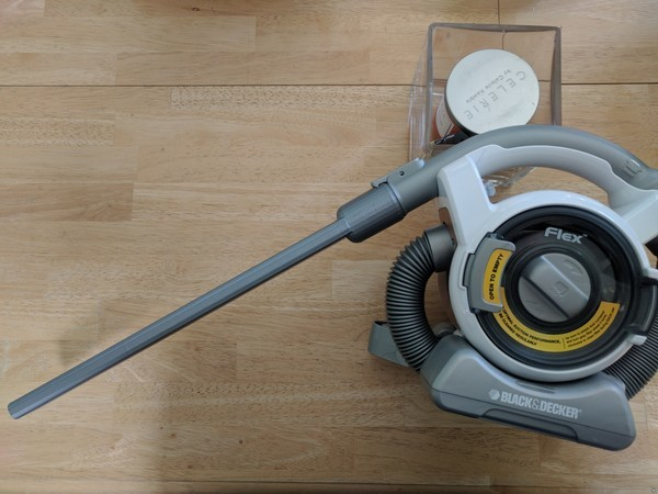 Freaking Huge Vacuum Cleaner Attachment for cleaning lint