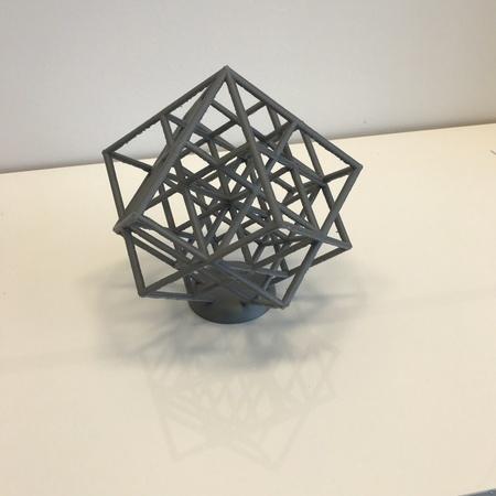 Lattice cube torture test