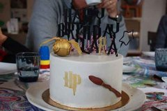 Impression3d Harry Potter Gateau05