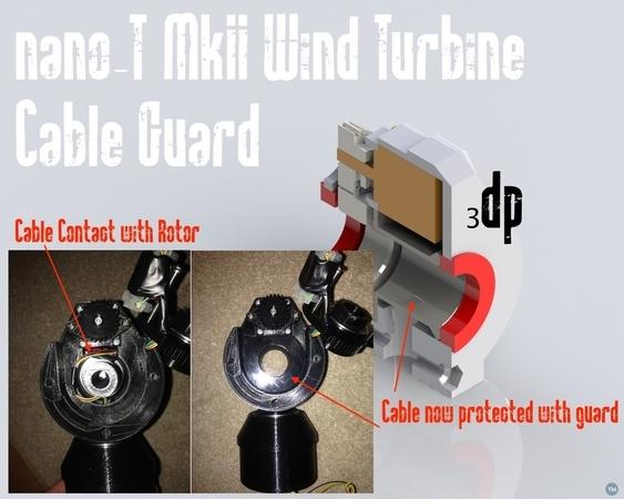 MKII 5 Watt 3d printable Wind Turbine