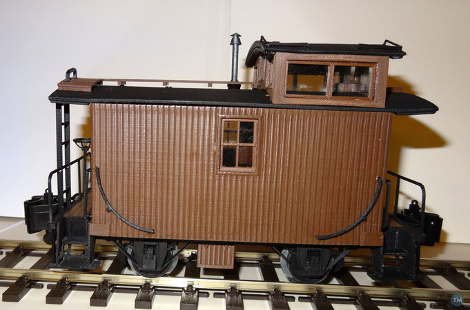 US Bobber Caboose Scale 1/32 - OpenRailway