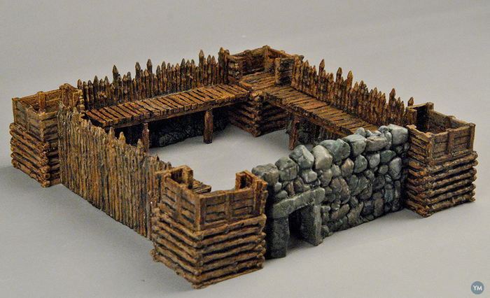 """Modular Outdoor Ruins for """"Stronghold on the Borderlands"""""""
