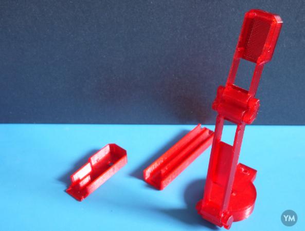 Miniature Camera Enclosure (Printed Joints)