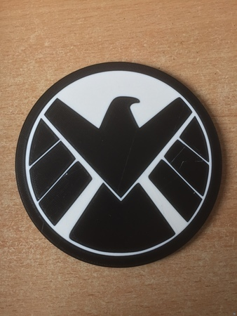 Agents of Shield Coaster