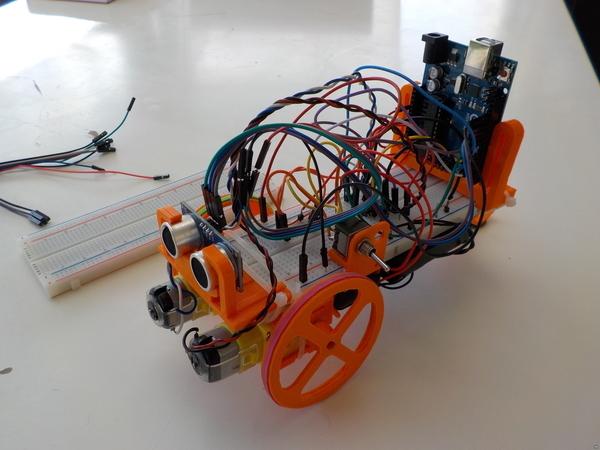 Robot kit for breadboard