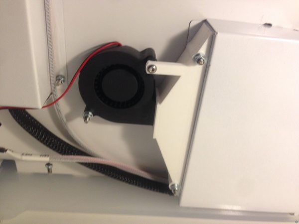 Ultimaker 2 Coolboard Duct for Control Board Cooling