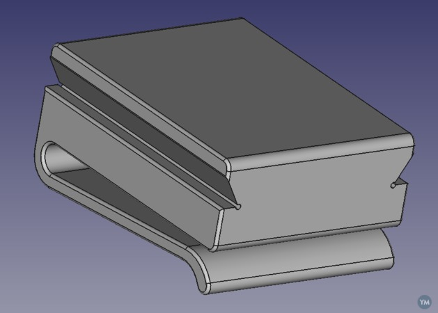 Support for small lathe QCTP holders