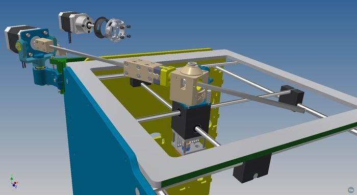 Zero Gravity Extruder by Gudo & Neotko - For UM2 and UMO+2