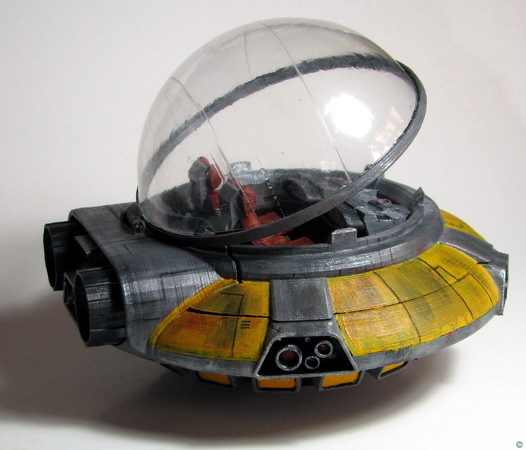 Flying Saucer for Stop Motion