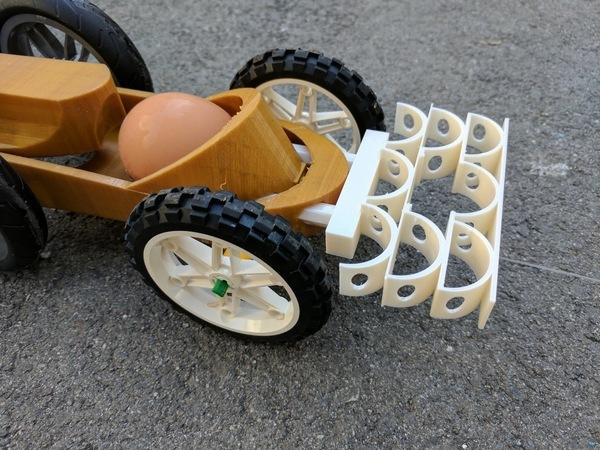 Crumple Zone Crash Test Car