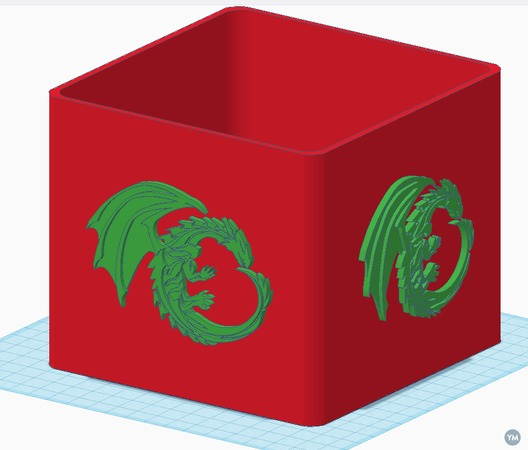 14cmx14cmx12cm-4-Dragon-Change-Box