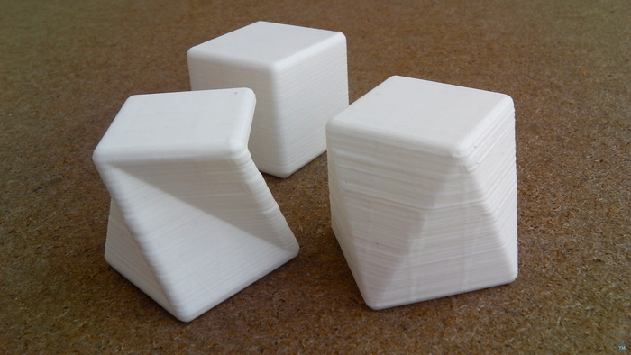 Square antiprism and twisted cube