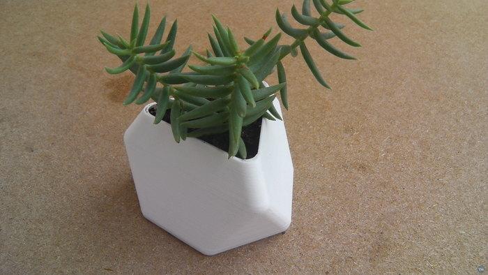 Truncated Tetrahedron vase