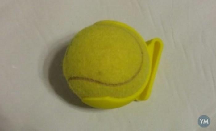 Clip bola de tenis