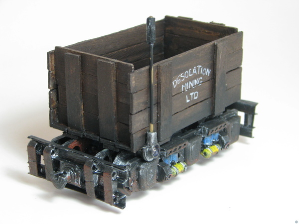 Mine Trolley for Stop Motion