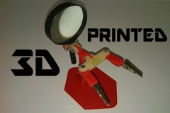 3 D Printed Helping Hands For Soldering Electronics
