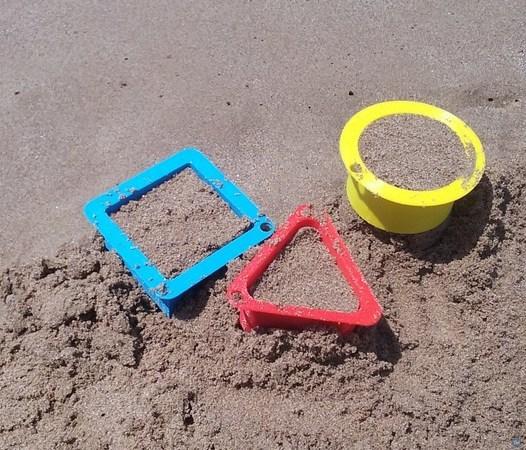 Encofrados playa