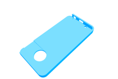 Rendering of Moto Z Play Slide Cover