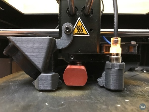Cooling Fan/Shroud with 5cm Blower and Sensor for Wanhao D6/Ultimate