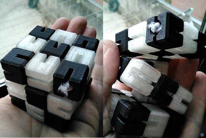 Elastic Cubes