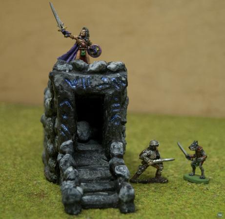Crypt for Stronghold on the Borderlands Kickstarter