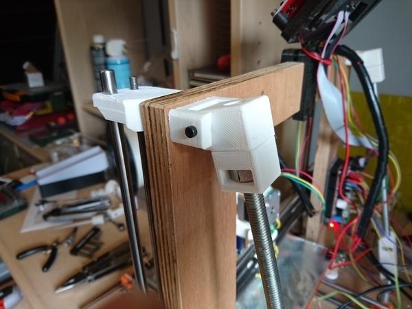 Prusa i3 adjustable square tensionner (parametric)