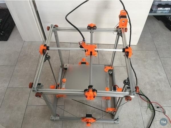 LeopardQR 34x34x42 cm 3D Printer