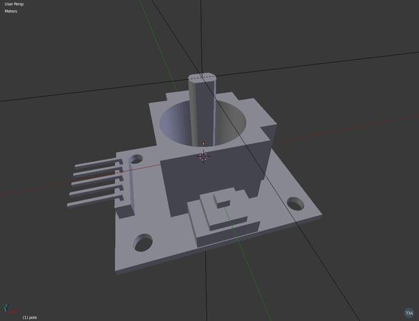 PS2 Joystick Module for Arduino