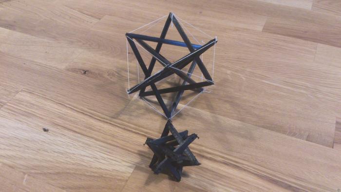 Tensegrity_gen | Cuboctahedron
