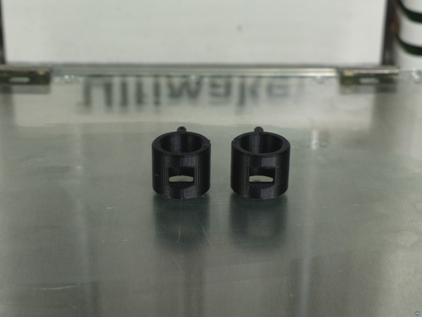 PTFE Spring/Spacer replacement with viewing-hole for UM2-series