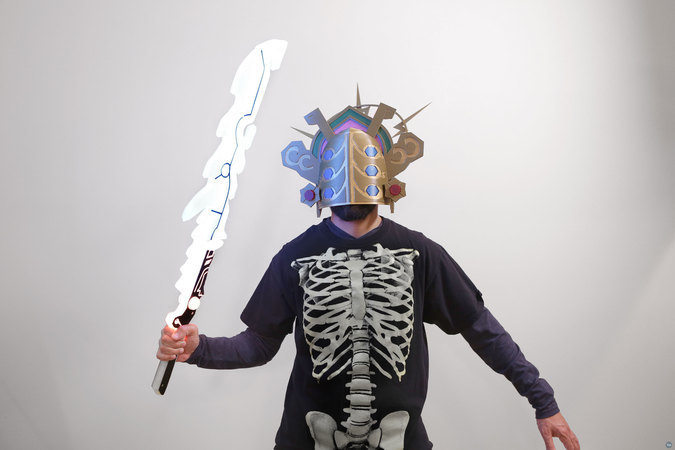 Zelda Thunder Helm - Breath of The Wild