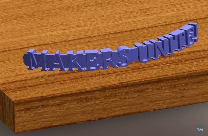 Text, Simple Extrude